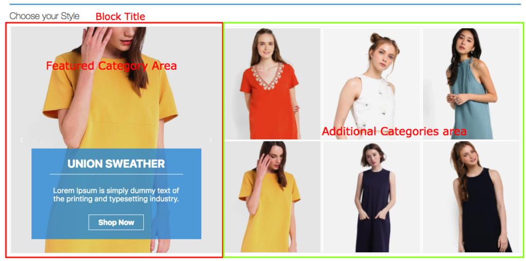 Customising WooCommerce Category Showcase Pro