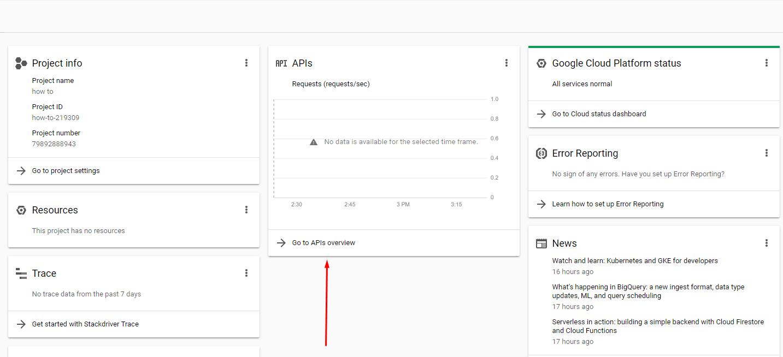 how to get youtube API_5