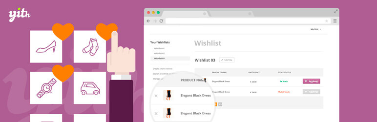 Image for YITH WooCommerce Wishlist