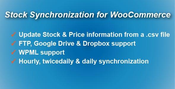 Stock Synchronization for WooCommerce